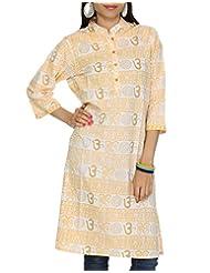 Rajrang Party Wear Kurta Womens CLothing Top Ladies CasuaL Wear Tunic Size L - B00AXXX8FS