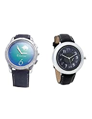 Foster's Men's Blue Dial & Foster's Women's Grey Dial Analog Watch Combo_ADCOMB0002298