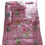 Joybaby BABY BEDDING SET (PINK)