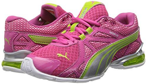 PUMA Voltaic 5 JR Training Shoe,Fuchsia Purple/PUMA Silver ...