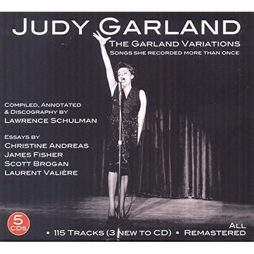 The Garland Variations Judy Garland Audio CD