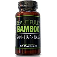 Beautifully Bamboo Ultra Vitamin For Skin, Hair, And Nail Growth. Enriched With Biotin, Bamboo Silica, Amino Acids...
