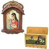 Great Art Buy Bani Thani Wooden Photo Frame N Get Key Magazine Holder Free