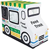 "Pacific Play Tents Kids Cotton Canvas Food Truck Playhouse - 50"" X 26"" X 39.5"""