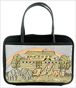 Bible Cover: Noah's Ark (The Charleston Needlepoint