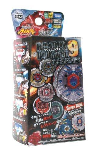 Takaratomy Beyblades #BB123 Japanese Metal Fusion Volume 9 Accessory Random Booster Game