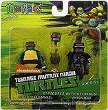 Minimates - TMNT - Sewer Gear Raphael & Anton Zeck