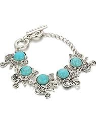 Hot And Bold Divine Vintage Style Elephant Charm Bangles & Bracelets For Women & Girls. Free Size. Designer Fashion...