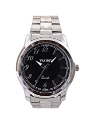 Turbo Youth Analogue White Dial Men's Watch - R109-001M