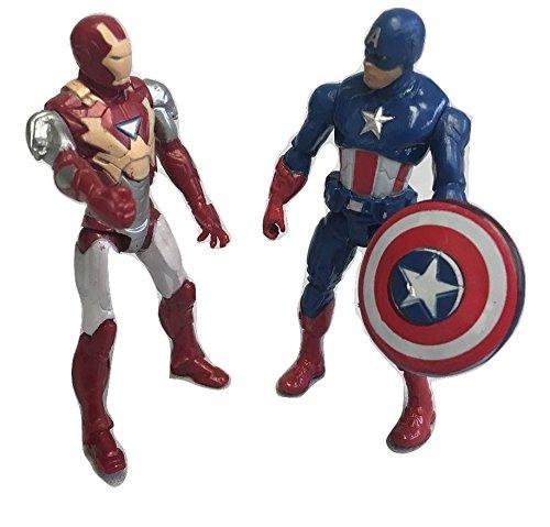 Captain America: Civil War Action Fiqure Collectors Set With Iron Man