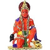 Fun N Shop Very Beautiful Idol Sinduri Hanuman Ji For Car, Home And Offic
