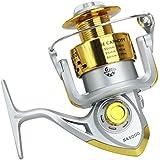 Generic Fishing Reels Sea Fishing Reel Spinning Reel 5.5:1 Gear Ratio SA1000-SA7000