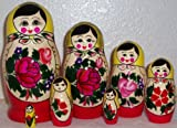 Russian Traditional 7 pc / 7 in * Nesting Nested Stacking doll s-107