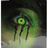 Donaldsons PS3 Designer Slim Vinyl Sticker Electric Decal + 2 Controller Skins (Neon Green)