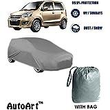 Autowheel Premium Heavy Duty Car Body Cover For New Maruti Wagonr With Storage Bag Free