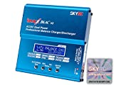 Genuine SKYRC iMAX B6AC V2 Dual Power (6Amps, 50Watts): LiPo, LiIon, LiFe, NiCd, NiMH, Pb Lead Acid AC/DC Professional RC Balancing Battery Charger & Discharger (Version 2) w/ Micro USB Port, Temperature Port, 2S-6S JST-XH Balance Ports