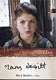 The Hobbit Desolation Of Smaug Autograph Card Mary Nesbitt as Tilda