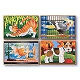 Melissa & Doug 3790 Pets Puzzles In A Box