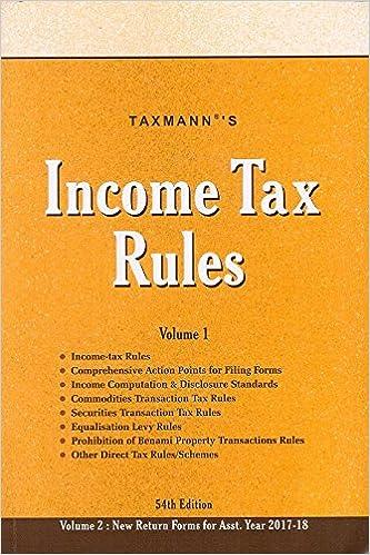 Taxmann's Income Tax Rules [2 Vols]