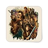 Desolation of Smaug Characters Square Sticker
