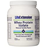 Life Extension Enhanced Life Extension Whey Protein Isolate, Vanilla, 1 Pound