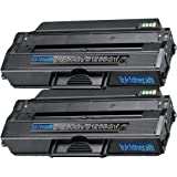 2 Replacement Toner Cartridges For Dell B1260dn / B1265dnf Toner Cartridge Replacement For Dell 331-7328