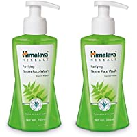 Himalaya Herbals Purifying Neem Face Wash, 200ml (Pack Of 2)