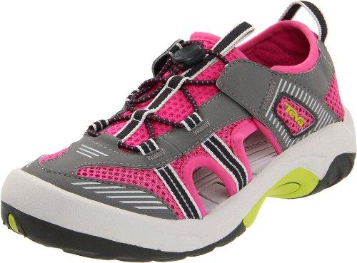 Teva Omnium Y Water Shoe ,Pink,7 M US Big Kid