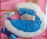 Barbie My First Fashions GLITTERY ICE SKATER w Faux Fur Trim (1994 Easy To Dress)