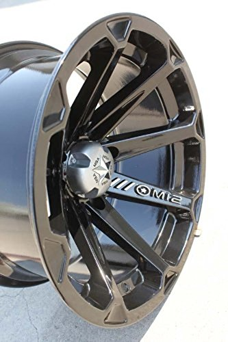 MSA Diesel 14×7 Black Wheel / Rim 4×110 with a -47mm Offset and a 86.00 Hub Bore. Partnumber M12-14710