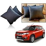 Car Vastra Cushion Pillow Set Black Color For Car & Home For - Maruti Suzuki Vitara Brezza
