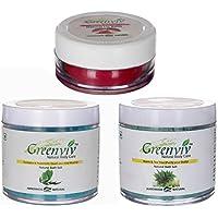 Greenviv Natural Combo Of Eucalyptus & Peppermint Bath Salt (100 Gm), Neem & Tea Tree Bath Salt (100 Gm) With...