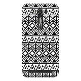 SKIMIJO Designer Printed Pattern Back Case Cover For ASUS Zenfone 2 Laser ZE500 KL (5inches)- Multicolour