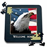Beverly Turner Welcome Home Design - Eagle Eye, Welcome Home - 10x10 Inch Puzzle (pzl_77324_2)