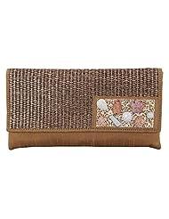 Craftstages Ethnic Designer Jute Sling Bag For Women (Material: Jute, Colour: Brown) - B00VREZCLK