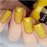 15ml Born Pretty Nail Art Stamping Polish Yellow Nail Polish 6# # 22325