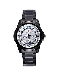 Relogio Masculino Luxury NAVIFORCE Brand Full Stainless Steel Analog Display Date Men's Quartz Watch Casual Watch... - B016OMWU46