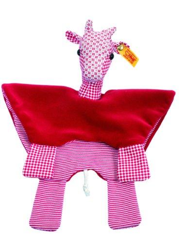 Steiff Steiff«s little circus giraffe comforter, red Baby Plush