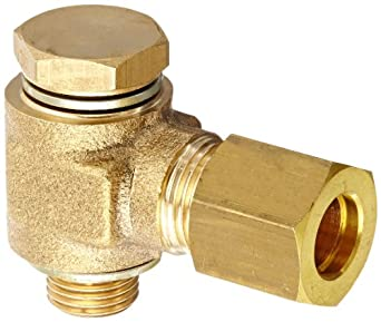 Legris 0118 Brass Compression Tube Fitting with bi
