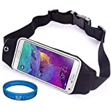 Outdoors Sport Running Belt Waist Fanny Pack Pouch Case For Samsung Galaxy Note 5 / Note 4 / Note Edge / Motorola...