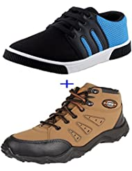 Earton COMBO Pack Of 2 Pair Of Shoes (Casual Shoe)