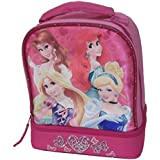 Disney Princess Lunch Bag Featuring Belle, Ariel, Sleeping Beauty, And Cinderella.