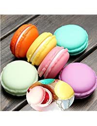 Generic Macarons Storage Box Candy Color For Jewelry Earring