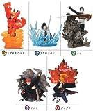 Naruto Shippuden Ninjyutsu Kiwami Emaki Figure (Set of 5)