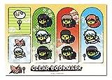 Gintama Mameshiba Clear bookmark Set
