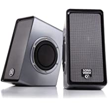 GOgroove SonaVERSE O2 Computer Speaker System With Passive Subwoofers & USB-Powered Stereo Design - Works With...