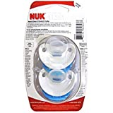 NUK Orthodontic Pacifier With Silicone Nipple - Tie Dye, 2pk Size 18-36m