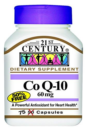 21st Century Co Q10 60 Mg Capsules, 75-Count