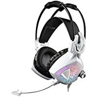 Yanni SADES Moling 7.1 Virtual Surround Sound Stereo Gaming Headset Lightweight USB Over Ear Headphones With Microphone...