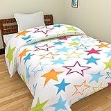 SS SALES Microfiber Star Print Double Bed Dohar/AC Blanket